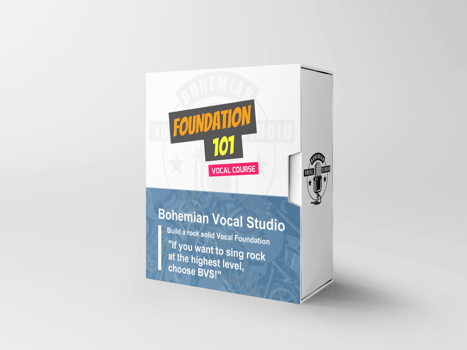 The Foundation 101 Singing Course